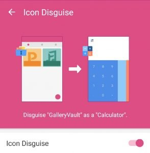 gallery vault, how to hide pictures in samsung j7