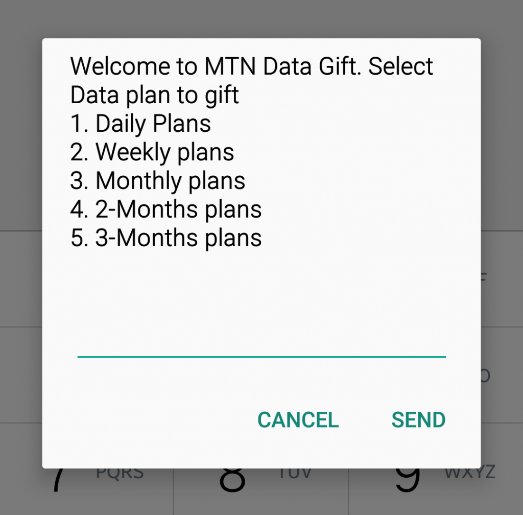How To Do MTN Data Gifting Or Share Data On MTN In 2018, 2019