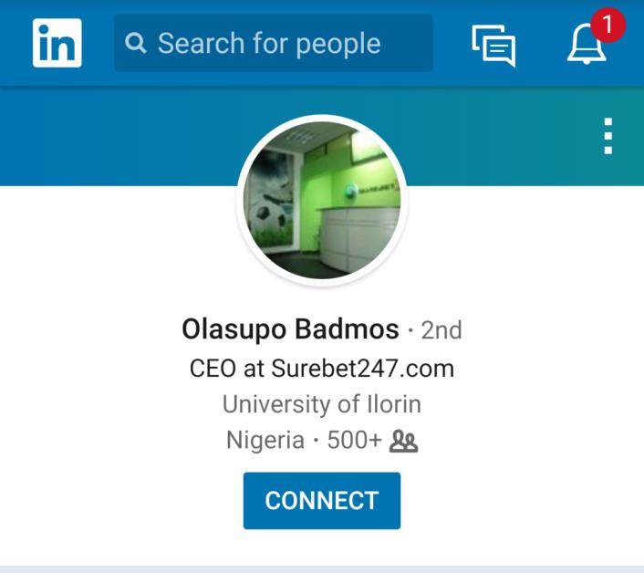 CEO, founder, Owner of Surebet