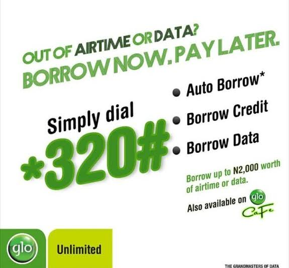 how to borrow airtime or credit from Airtel, MTN, GLO, & 9mobile