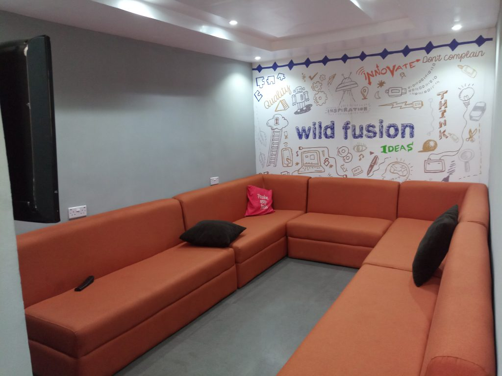 Wild fusion nigerian office
