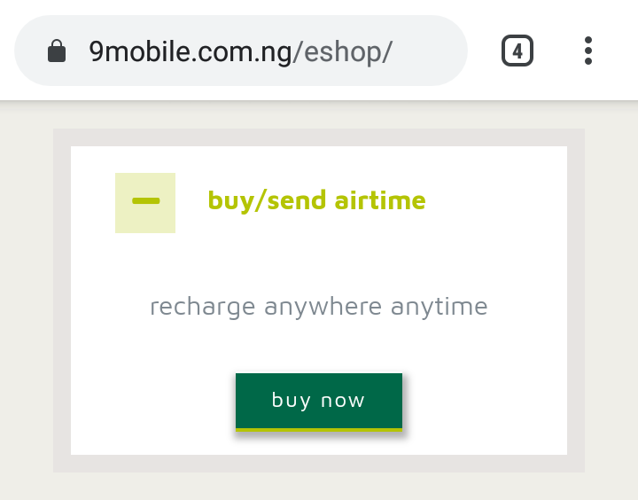 9mobile Recharge Code: How To Load 9mobile Card