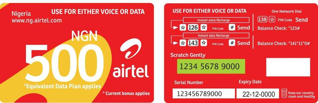 How To Recharge Load Airtel