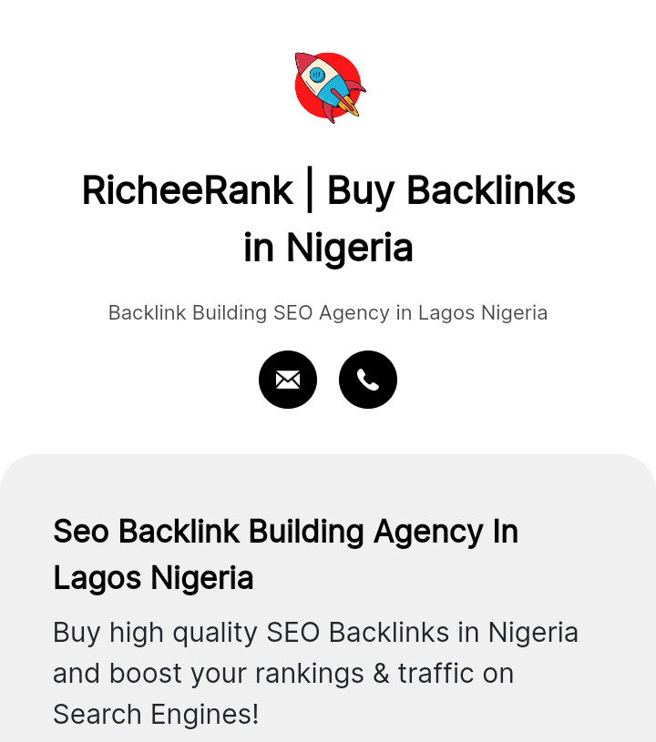 Buy Backlinks in Nigeria