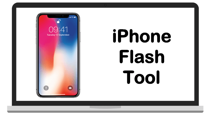 iPhone flash tool